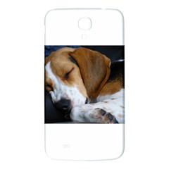 Beagle Sleeping Samsung Galaxy Mega I9200 Hardshell Back Case