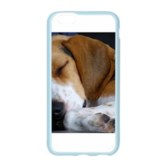 Beagle Sleeping Apple Seamless iPhone 6 Case (Color)