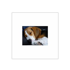 Beagle Sleeping Satin Bandana Scarf