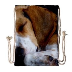 Beagle Sleeping Drawstring Bag (Large)