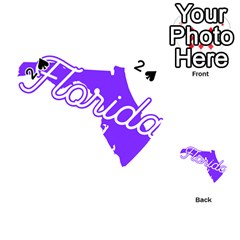 Florida Home State Pride Playing Cards 54 (heart)