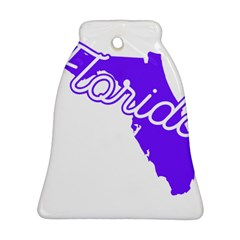 FLorida Home State Pride Ornament (Bell)