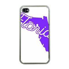 FLorida Home State Pride Apple iPhone 4 Case (Clear)