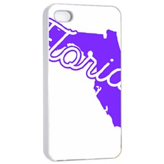 FLorida Home State Pride Apple iPhone 4/4s Seamless Case (White)