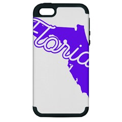 FLorida Home State Pride Apple iPhone 5 Hardshell Case (PC+Silicone)
