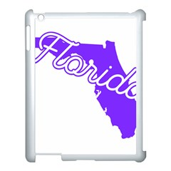 FLorida Home State Pride Apple iPad 3/4 Case (White)