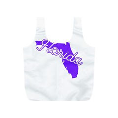FLorida Home State Pride Full Print Recycle Bags (S)