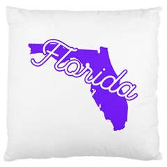 FLorida Home State Pride Standard Flano Cushion Cases (Two Sides)