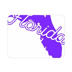 Florida Home State Pride Double Sided Flano Blanket (mini)