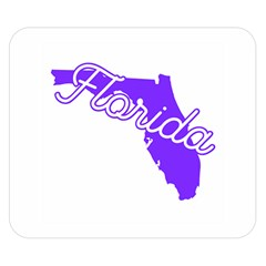 FLorida Home State Pride Double Sided Flano Blanket (Small)