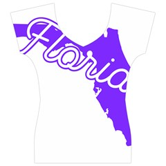 FLorida Home State Pride Women s V-Neck Cap Sleeve Top