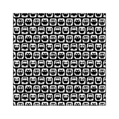 Black And White Owl Pattern Acrylic Tangram Puzzle (6  X 6 )