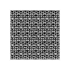 Black And White Owl Pattern Acrylic Tangram Puzzle (4  x 4 )