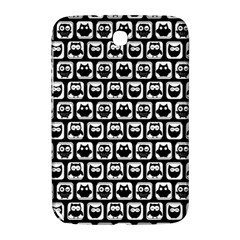 Black And White Owl Pattern Samsung Galaxy Note 8.0 N5100 Hardshell Case