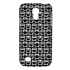 Black And White Owl Pattern Galaxy S4 Mini