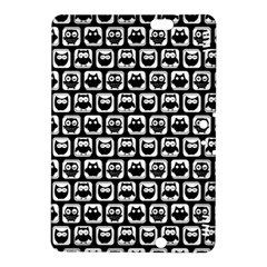 Black And White Owl Pattern Kindle Fire HDX 8.9  Hardshell Case