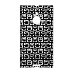 Black And White Owl Pattern Nokia Lumia 1520
