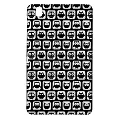 Black And White Owl Pattern Samsung Galaxy Tab Pro 8.4 Hardshell Case