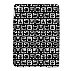 Black And White Owl Pattern Ipad Air 2 Hardshell Cases