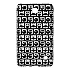 Black And White Owl Pattern Samsung Galaxy Tab 4 (8 ) Hardshell Case