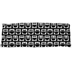 Black And White Owl Pattern Body Pillow Cases (Dakimakura)