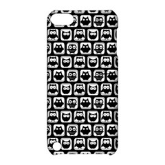 Black And White Owl Pattern Apple iPod Touch 5 Hardshell Case with Stand