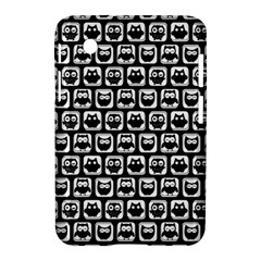 Black And White Owl Pattern Samsung Galaxy Tab 2 (7 ) P3100 Hardshell Case