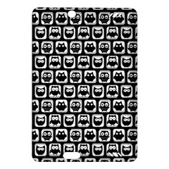 Black And White Owl Pattern Kindle Fire HD (2013) Hardshell Case