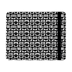 Black And White Owl Pattern Samsung Galaxy Tab Pro 8.4  Flip Case