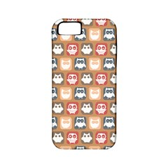 Colorful Whimsical Owl Pattern Apple iPhone 5 Classic Hardshell Case (PC+Silicone)