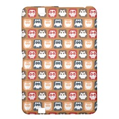 Colorful Whimsical Owl Pattern Kindle Fire HD 8.9