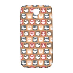 Colorful Whimsical Owl Pattern Samsung Galaxy S4 I9500/I9505  Hardshell Back Case