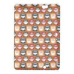Colorful Whimsical Owl Pattern Kindle Fire HDX 8.9  Hardshell Case