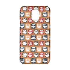 Colorful Whimsical Owl Pattern Samsung Galaxy S5 Hardshell Case