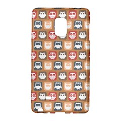Colorful Whimsical Owl Pattern Galaxy Note Edge