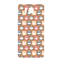 Colorful Whimsical Owl Pattern Samsung Galaxy Alpha Hardshell Back Case