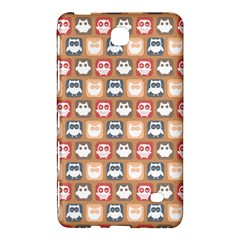 Colorful Whimsical Owl Pattern Samsung Galaxy Tab 4 (7 ) Hardshell Case