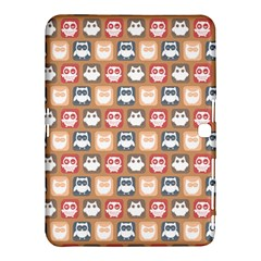 Colorful Whimsical Owl Pattern Samsung Galaxy Tab 4 (10.1 ) Hardshell Case