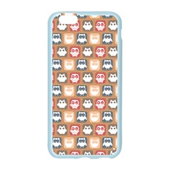 Colorful Whimsical Owl Pattern Apple Seamless iPhone 6 Case (Color)