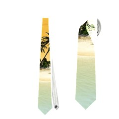 Beautiful Island In The Sunset Neckties (One Side)