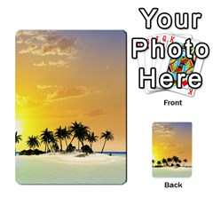 Beautiful Island In The Sunset Multi-purpose Cards (Rectangle)