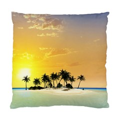 Beautiful Island In The Sunset Standard Cushion Case (One Side)