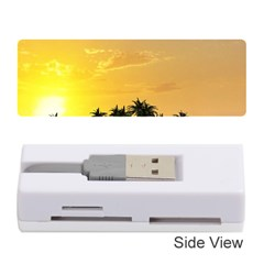 Beautiful Island In The Sunset Memory Card Reader (Stick)