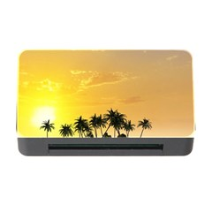 Beautiful Island In The Sunset Memory Card Reader with CF
