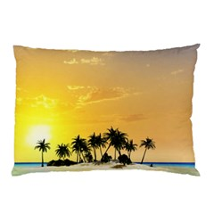 Beautiful Island In The Sunset Pillow Cases (Two Sides)