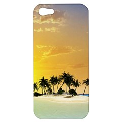 Beautiful Island In The Sunset Apple iPhone 5 Hardshell Case