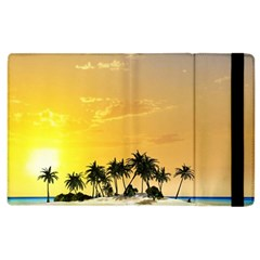 Beautiful Island In The Sunset Apple iPad 2 Flip Case