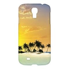 Beautiful Island In The Sunset Samsung Galaxy S4 I9500/I9505 Hardshell Case