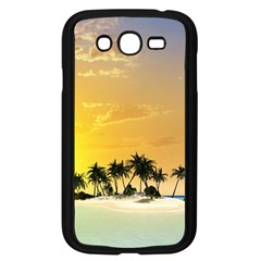 Beautiful Island In The Sunset Samsung Galaxy Grand DUOS I9082 Case (Black)