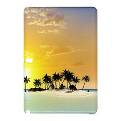 Beautiful Island In The Sunset Samsung Galaxy Tab Pro 12.2 Hardshell Case